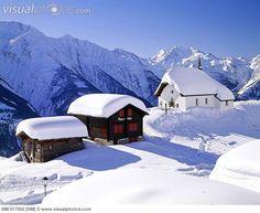 Let it snow!  La Suisse