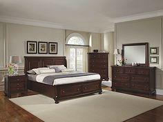 westlake 4-pc. king platform bedroom set w/ storage bed | bedroom