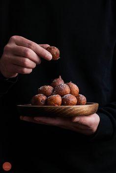 Beignets à la ricotta / Ricotta fritters / Buñuelos de ricotta