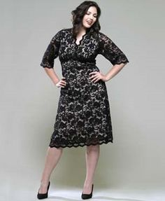 eae22400e8fa black lace dresses for women | Cute black trendy plus size lace dresses for  curvy women