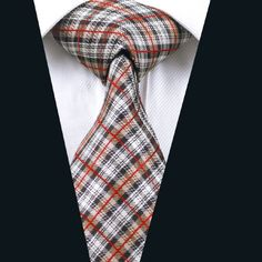DN-283 Men s 100% Jacquard Woven Silk Ties Necktie Free P&P! Clearance Sale!