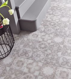 Alfred Grey Is A Large 498mm X Patterned Ceramic Floor Tile Taking Inspiration From Patchwork