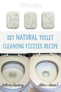 Natural Toilet Cleaning Fizzies | Wellness Mama