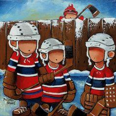 The big three Hockey Decor, Big Three, People Art, Cool Art, Awesome Art, Nhl, Ronald Mcdonald, Art Pieces, Doodles