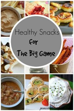 19 healthy, yummy snack ideas for football watching -- or any snack-eating-time, really!