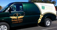 This van wrap turn out great! We especially love the zipper graphic. #graphic
