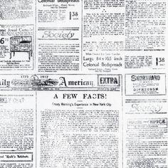 Sundance Graphics - Objects - Newspaper in White