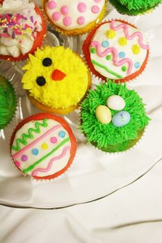 Spring & Easter cupcakes