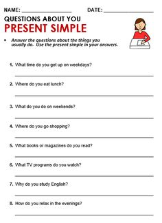 English Grammar, 'Questions About You', Grammar & Writing Practice, Used To. www. Grammar Questions, Grammar Quiz, Grammar Practice, Grammar Lessons, Writing Practice, Wh Questions, English Grammar Tenses, Teaching English Grammar, English Worksheets For Kids