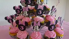 Minnie Mouse and Zebra Print Birthday Party Ideas   Photo 5 of 8   Catch My Party