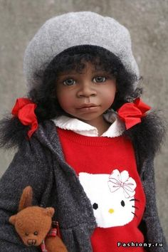 Kids Birthday Christmas Gift Shrink-Proof Vinyl Reborn 20inch African American Baby Boy Doll With Plush Jumpsuits Hat Clothes Dolls & Stuffed Toys Dolls
