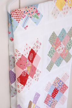 prettiest granny square quilt by messyjesse
