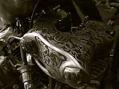 Engraved Knucklehead