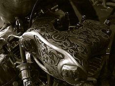 Engraved Knucklehead