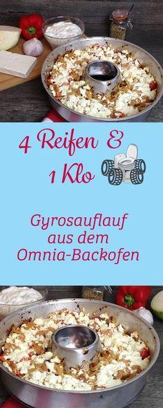Gyrosauflauf aus dem Omnia-Backofen! So hast du einen Gyrosauflauf noch nie zubereitet! Schau dir die tollen Rezepte für den Omnia-Backofen an!