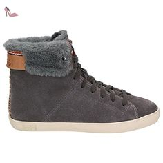 Napapijri Fiona, Baskets hautes femmes - Marron - Braun (tabacco brown N41),  36 EU - Chaussures napapijri (*Partner-Link)   Chaussures Napapijri    Pinterest