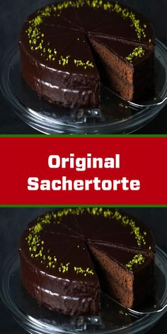 Original Sachertorte The original recipe of the world-famous Sachertorte - this is how your chocolat Mint Brownies, Chewy Brownies, Brownie Cookies, Cereal Recipes, Baking Recipes, Snacks Sains, British Baking, Salty Cake, Cake Trends