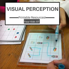 Visual Perception Resources: Printables. Your Kids OT