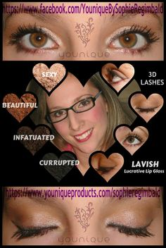 Younique by Lola C. - Uplift. Empower. Motivate.  Click here to order: https://www.youniqueproducts.com/Lola/products/collections#.U9RRy_l1ySp