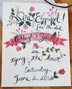 Whimsical floral stationary