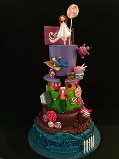 Charlie and the chocolate factory cake - Cake by Galatia