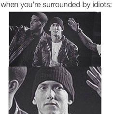 Listen to every Eminem track @ Iomoio Eminem Funny, Eminem Memes, Eminem D12, Fast And Furious Actors, Rap Singers, Funny Cute, Hilarious, Eminem Photos, The Real Slim Shady