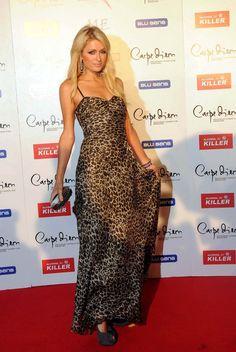 Paris Hilton Hard Case Clutch