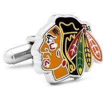 Chigago Blackhawks Cufflinks NHL Logo