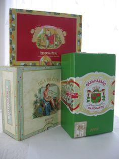 S O L D ! Cigar Box Collection