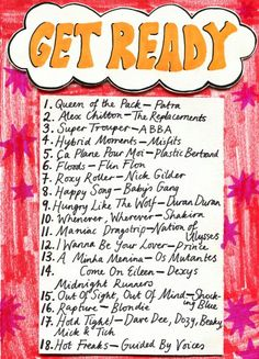 Get Ready playlist