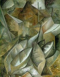 George Braques • Fishing Boats • 1909