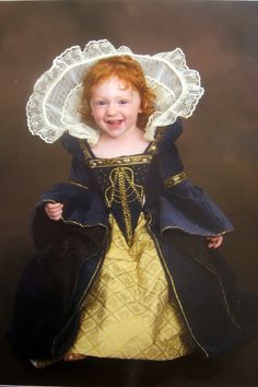 Renaissance Gown Custom Princess Heirloom Girls Dress. $300.00, via Etsy.