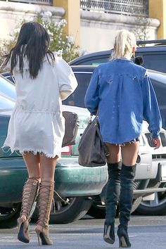 Kylie Jenner and Pia Mia | Kylie Jenner & Pia Mia Perez – Out in Calabasas, May 2015