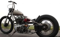 CYCLEBOMB #2 ROCKERBOXRACING | XS650 Chopper