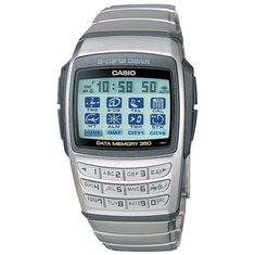 Whether it is overall performance or style, Casio Watches have it all. Once you discover exactly what you're looking for, a bit of research via the internet will allow you to find very good offers. Retro Watches, Vintage Watches, Cool Watches, Watches For Men, Casio Databank, Casio Watch, Casio Digital, Digital Watch, Casio Vintage Watch