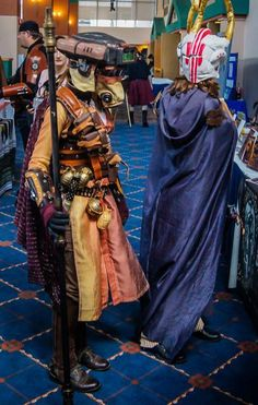 Steampunk Leia as the bounty hunter Boushh. That's the teen author JM Lee inside that helmet.