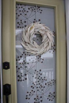 Book page wreath by jeckert