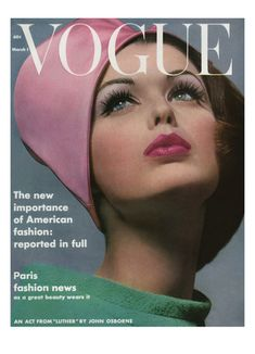 Vintage Vogue Covers Art for Sale Vogue Magazine Covers, Fashion Magazine Cover, Fashion Cover, 1960s Fashion, Vogue Fashion, Fashion Vintage, Gothic Fashion, High Fashion, Womens Fashion
