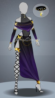 (closed) Auction Adopt - Outfit 514 by CherrysDesigns