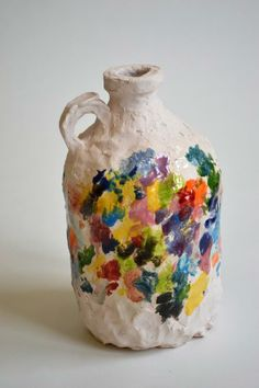 // Nicholas Nyland..... Could this be modified into a kid craft?  Plaster of Paris over a jar, then paint.