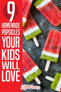 Making your own popsicles is not only a fun, kid-friendly activity, but it is also a great way to ensure that you know exactly what goes into your family's treats. From good old fashioned Neapolitan to milk and cereal, these homemade popsicles are fun, creative, and best of all, absolutely delicious!