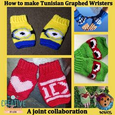 How to make Tunisian graphed Wristers