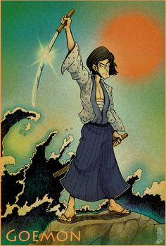 Goemon Ishikawa by Dasha-KO on DeviantArt