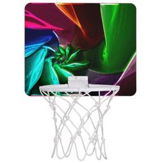 Fractal Chromatic 5 Mini Basketball Hoops
