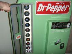 vintage dr pepper machine