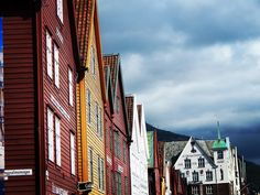 Bergen Norway's Second City and the Gateway to the Fjords. Photo by @kristianfjordhopper on Instagram.