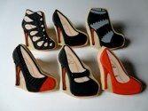 final set of heel cookies from sugar envy