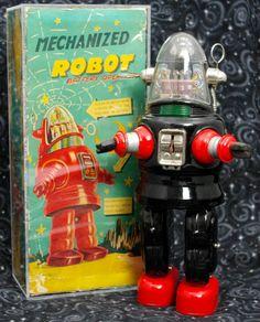 Nomura Robby Robot 50s/ebay