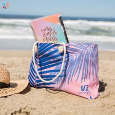 #ErinCondren Oversized tote in #Palms