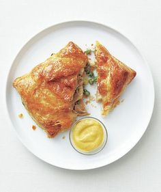 Chicken and Gruyère Turnovers | Feeling the dinner crunch? Turn to these make-ahead and freezer-friendly recipes to get a delicious meal on the table in no time.